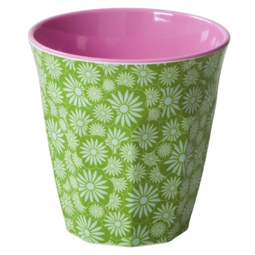 Rice Melamine Cup Casablanca Green