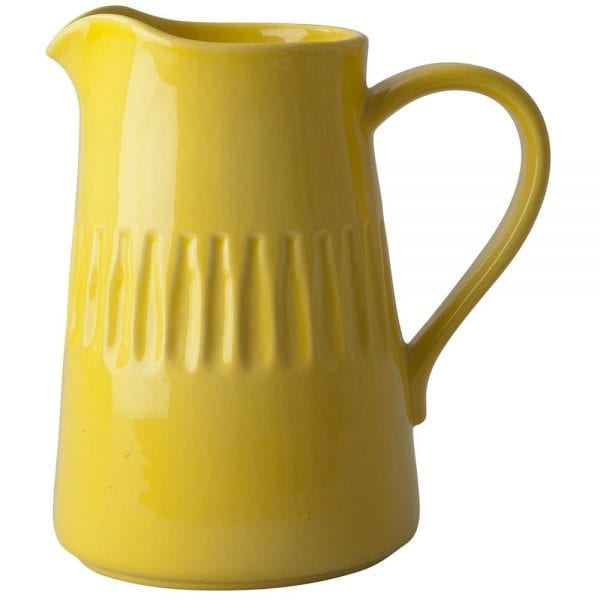 Ceramic Jug Yellow Rice Homewares