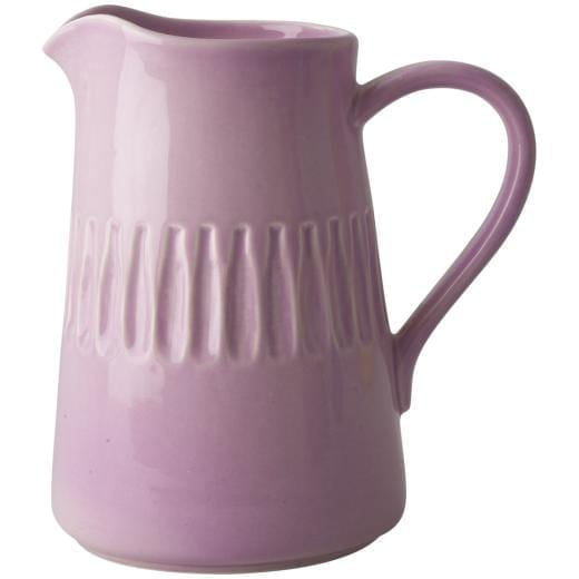 Rice Ceramic Jug Large Pink