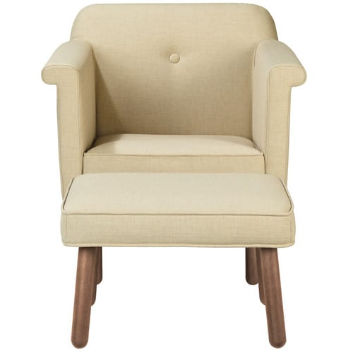 Orla Kiely Accent Chair Natural