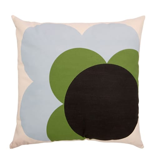Orla Kiely Cushion Big Spot Shadow Flower Grass