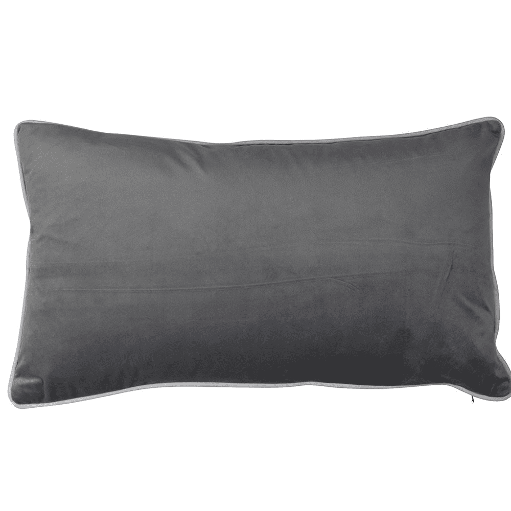 Theo And Joe Rodeo Cushion Cover Rectangle Silver