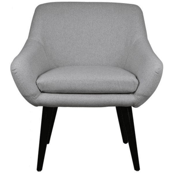 Napoli Arm Chair Light Grey Theo and Joe