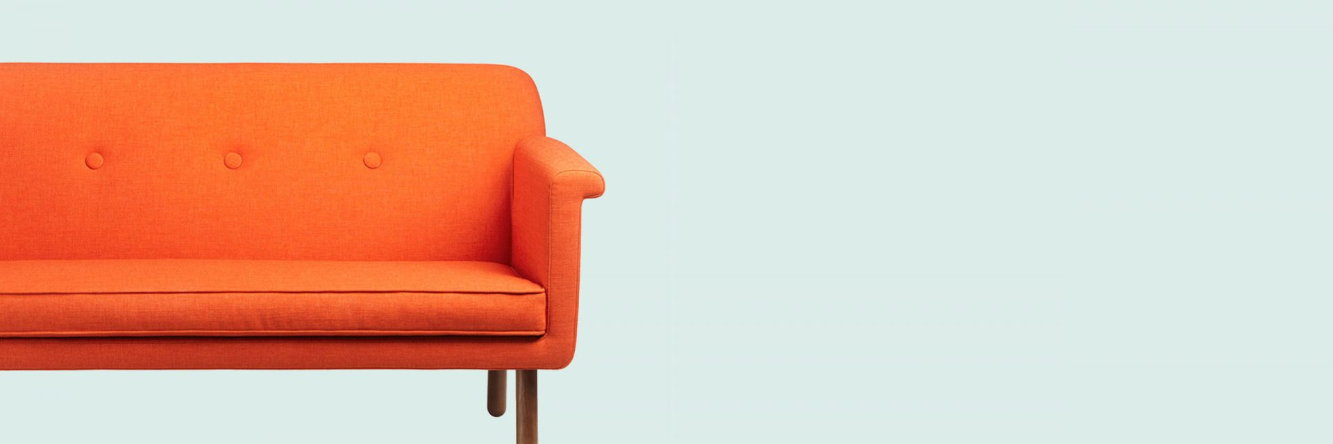 sofa orange banner bkgnd