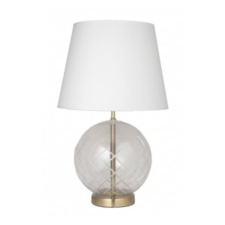 accent table lamp white