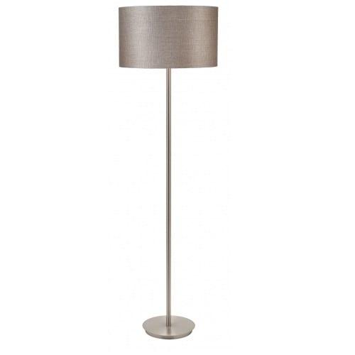 Flynn Bark Linen Floor Lamp