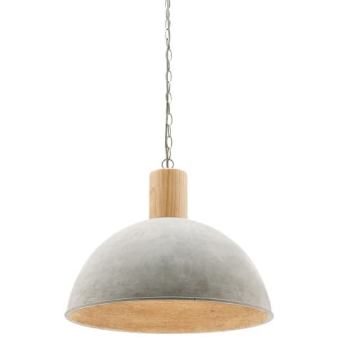 Berlo Pendant Light Cement 400