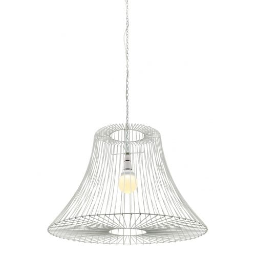 Connor White Small Pendant Light