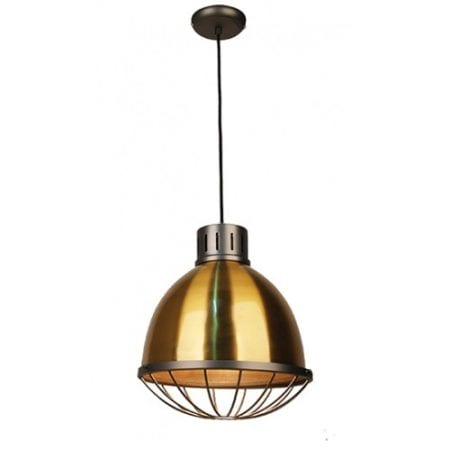 Nakia Antique Brass Pendant Light