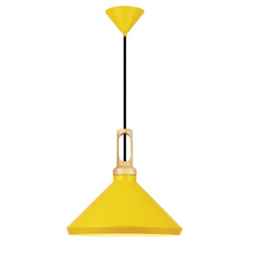 Nat Yellow Pendant Light