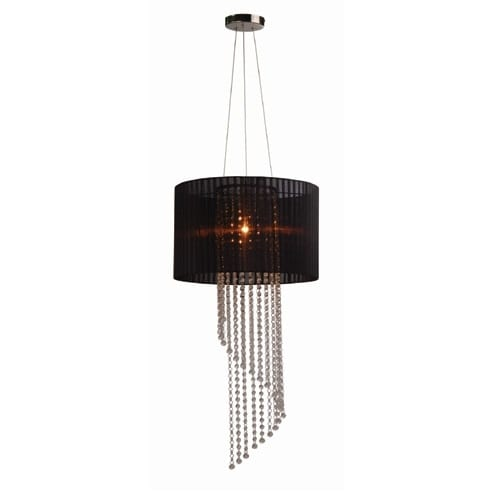 Perry Black Pendant Light