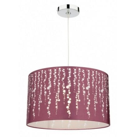 Splash Plum Large Pendant Light