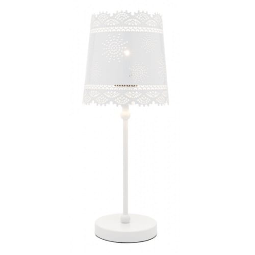 Alice White Table Lamp