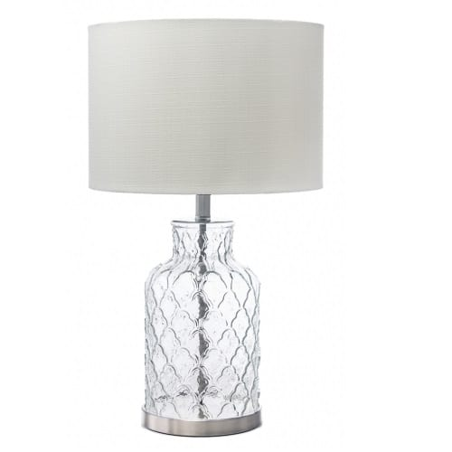 Ariel White Table Lamp