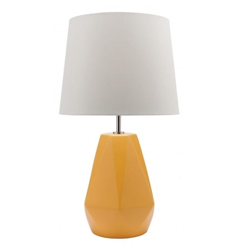 Popsicle Yellow Table Lamp