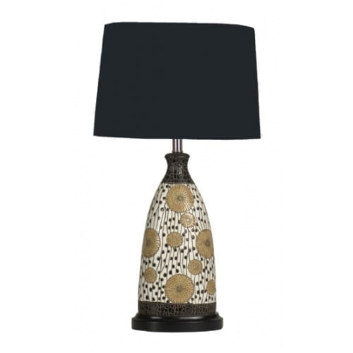 Samantha Table Lamp | Black