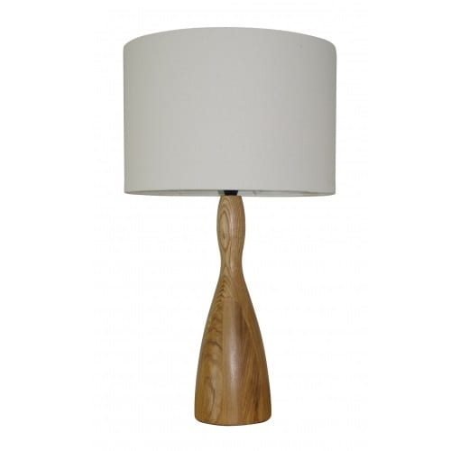 Schroder White Table Lamp