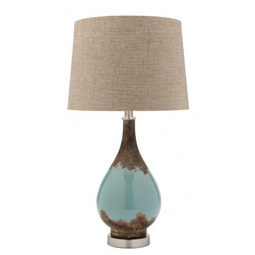 Scope Linen Table Lamp