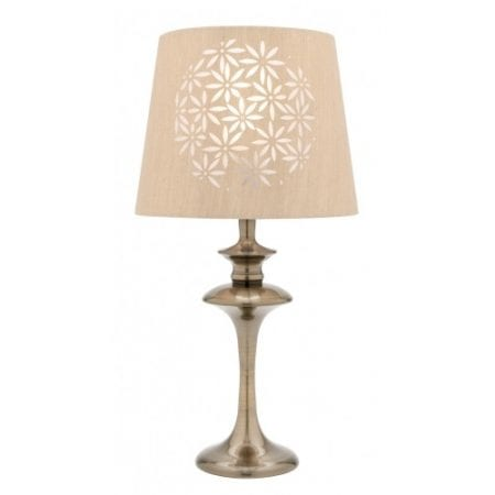 Select Antique Brass Table Lamp