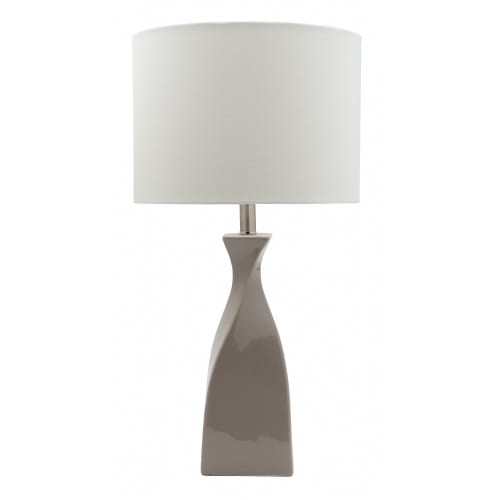 Tempo Taupe Table Lamp