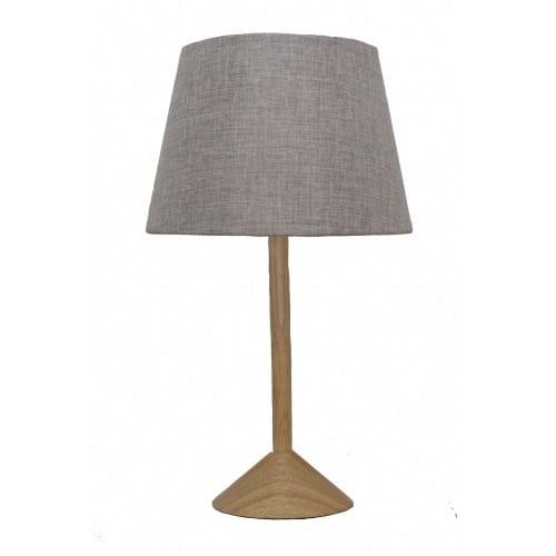 Tex Grey Table Lamp