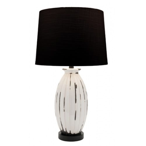 Walker Black Table Lamp