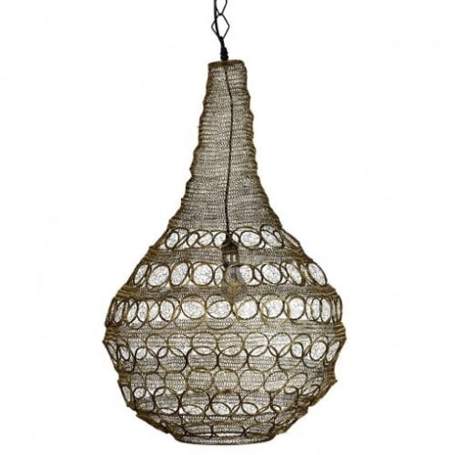 Henry Pendant Light Gold Theo and Joe