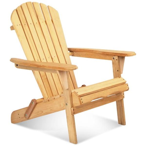 Outdoor Foldable Garden Chair Wood