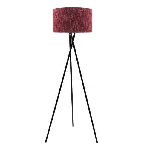 Civic Floor Lamp Black Motlop Cranberry Mix