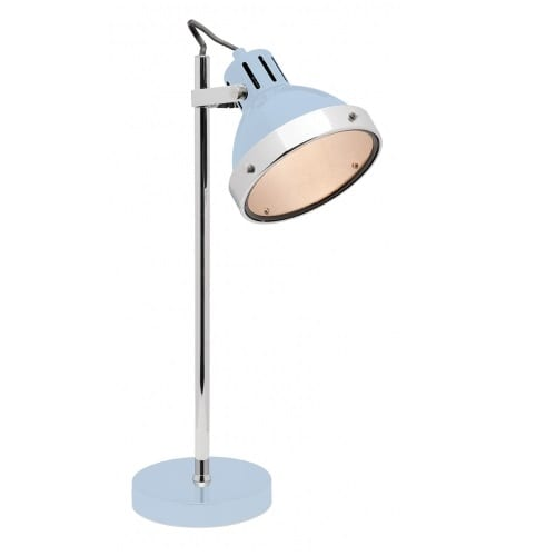 Caddy Blue Table Lamp