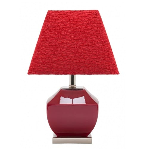 Chai Red Table Lamp