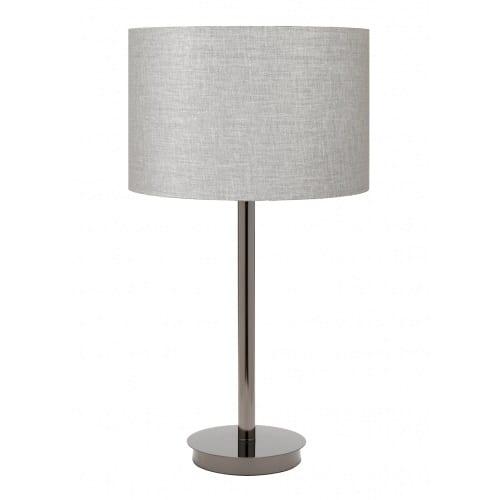 Flynn Ash Linen Table Lamp
