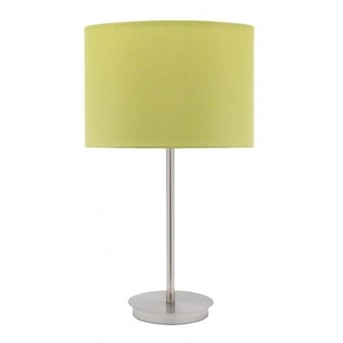 Flynn Linen Lime Table Lamp
