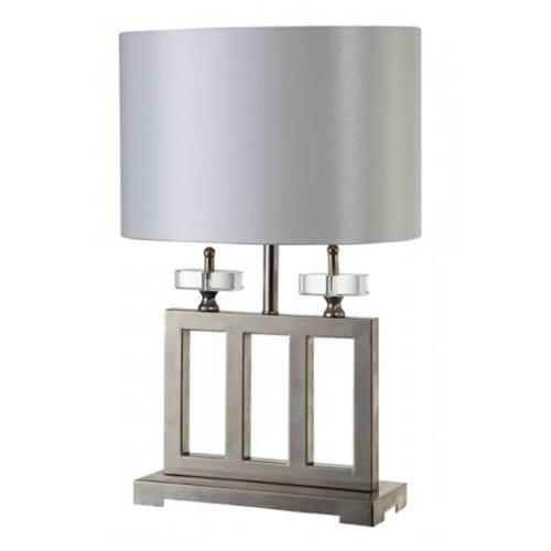 Grace White Table Lamp