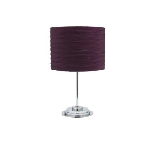 Kaylee Deluxe Purple Table Lamp