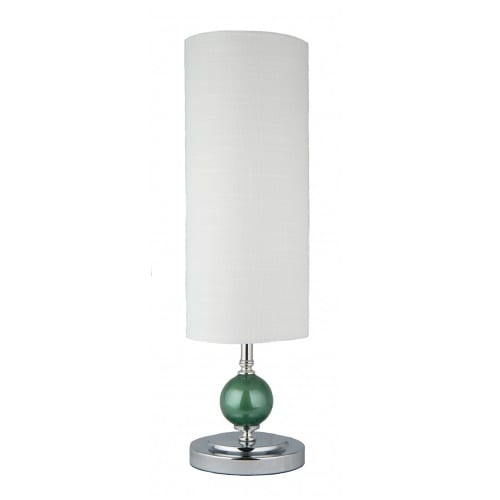 Kelly Blue White Table Lamp