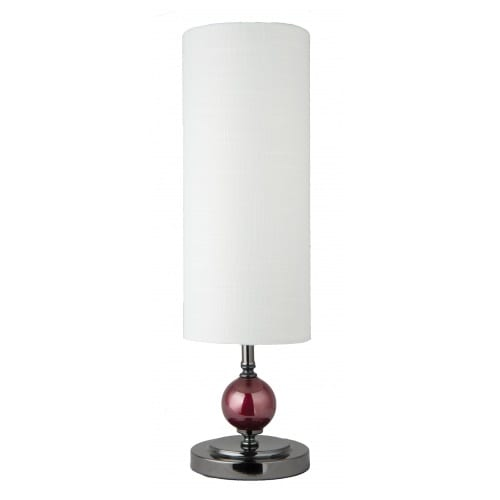 Kelly Red White Table Lamp