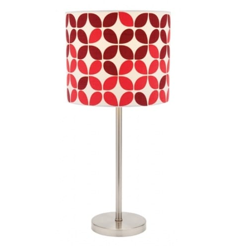 Lief Red Table Lamp