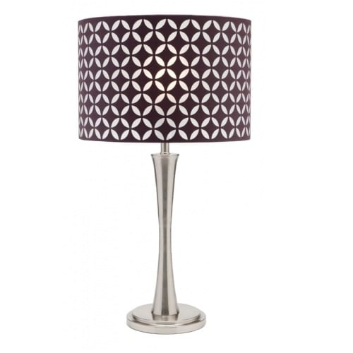Marilyn Purple Table Lamp