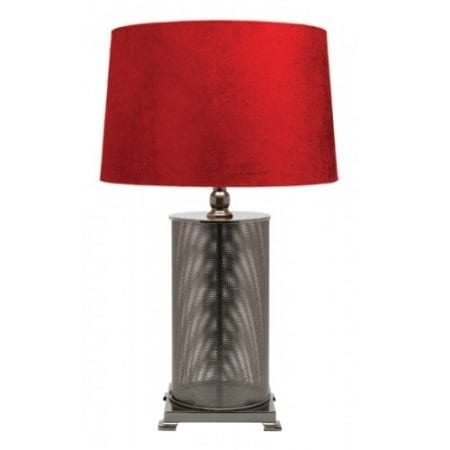 Moira Table Lamp Red