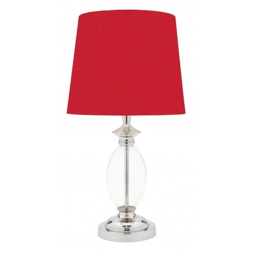 Sherbie Red Table Lamp