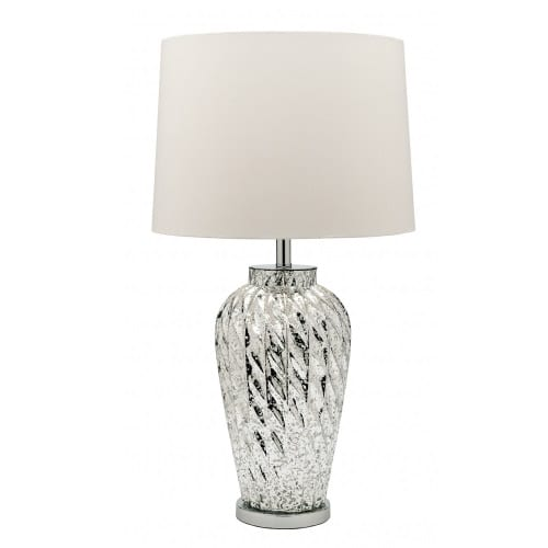 Spangle White Table Lamp