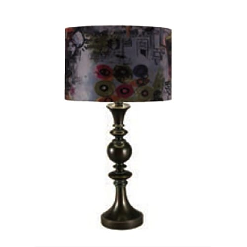 Callia Abstract Table Lamp Bronze