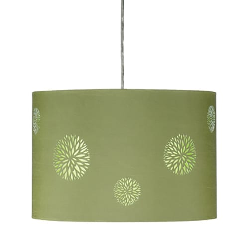 Phoebe Green Pendant Light