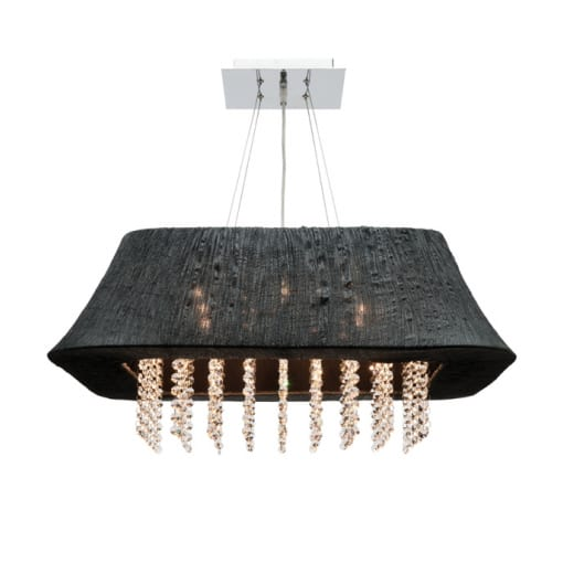Nikita 9 Light Pendant Black