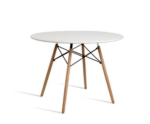 4 Seater Round Beech Timber Dining Table