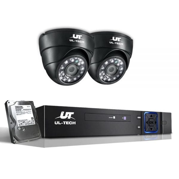 720P Four Channel HDMI CCTV Security Camera