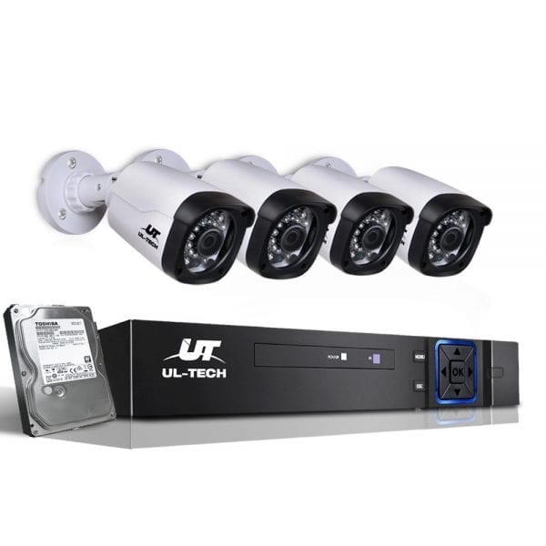 720P Eight Channel HDMI CCTV Security Camera