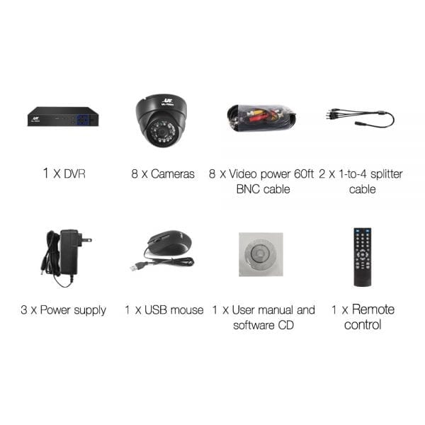 720P CCTV Security Camera
