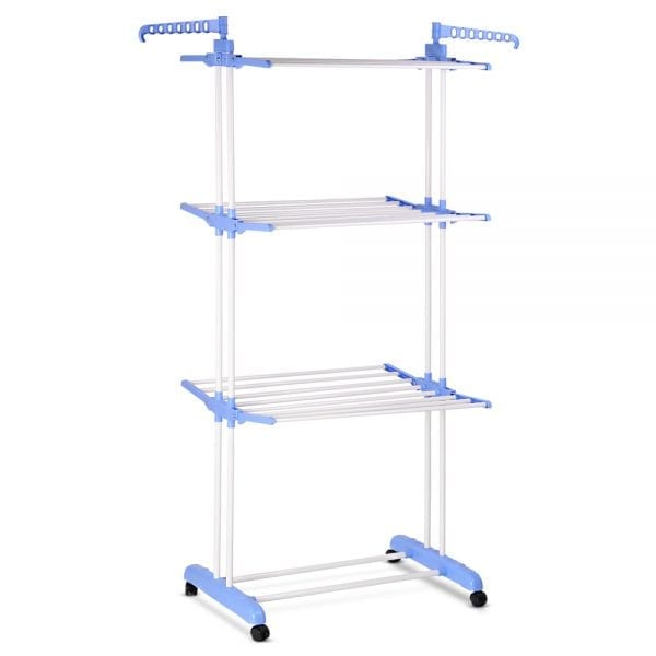 Foldable 6-Tier Clothes Drying Rack